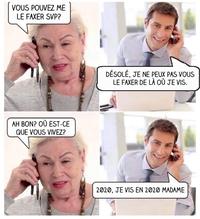 Kan ta grand-mère communique avec toi