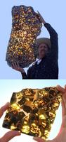 Fragment de la météorite de fukang