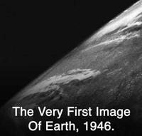 la toute premiere image de la terre