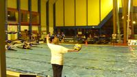 Un ballon, des kayaks