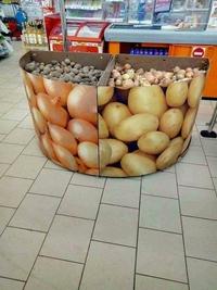 Patates et oignons