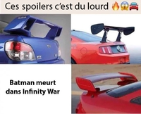 Collection de Spoilers !
