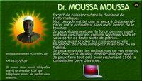 Dr. Moussa Moussa, expert informatique de naissance