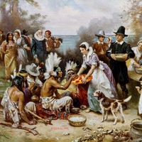 Les pèlerins du Mayflower apportent la civilisation aux indiens