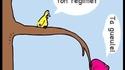 La bonne vieille blague de l'oiseau qui fait PIOU PIOU !