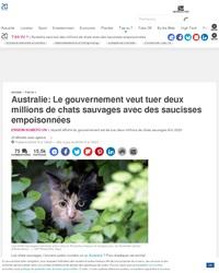 Kan l'Australie découvre une espéce dangereuse pour la population.
