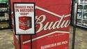 Un méga pack de Budweiser