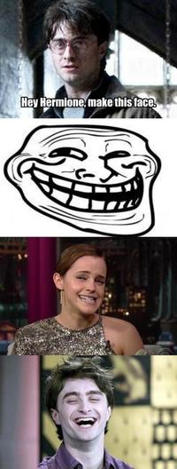 Le sourire d'Hermione