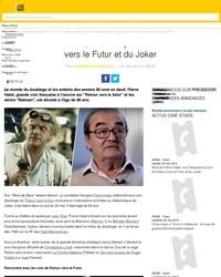 Mort de Pierre Hatet, voix française du Doc de Retour vers le Futur et du Joker