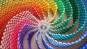 La spirale arc-en-ciel