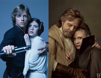 Luke et Leia Skywalker