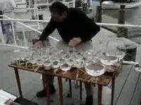 Joueur de verres