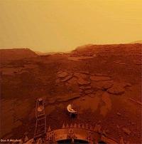 Surface de Vénus, photographiée en 1982...