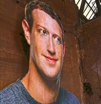 Portrait de Mark Zuckerberg