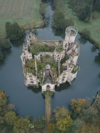 Le château de la Mothe Chandenier (Vienne)