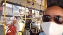 Le port du masque obligatoire dans les transports en commun