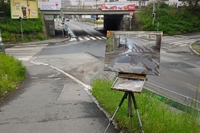 Peinture de carrefour