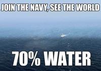 Engagez-vous dans la Marine, visitez la Terre qu'ils disaient !