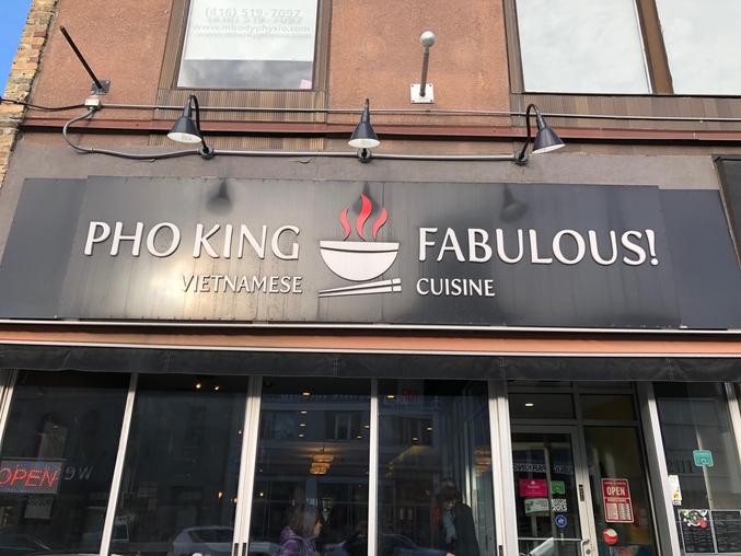 J'étais à Toronto cette semaine et je cherchais un restaurant. Je n'ai pas été déçu :)