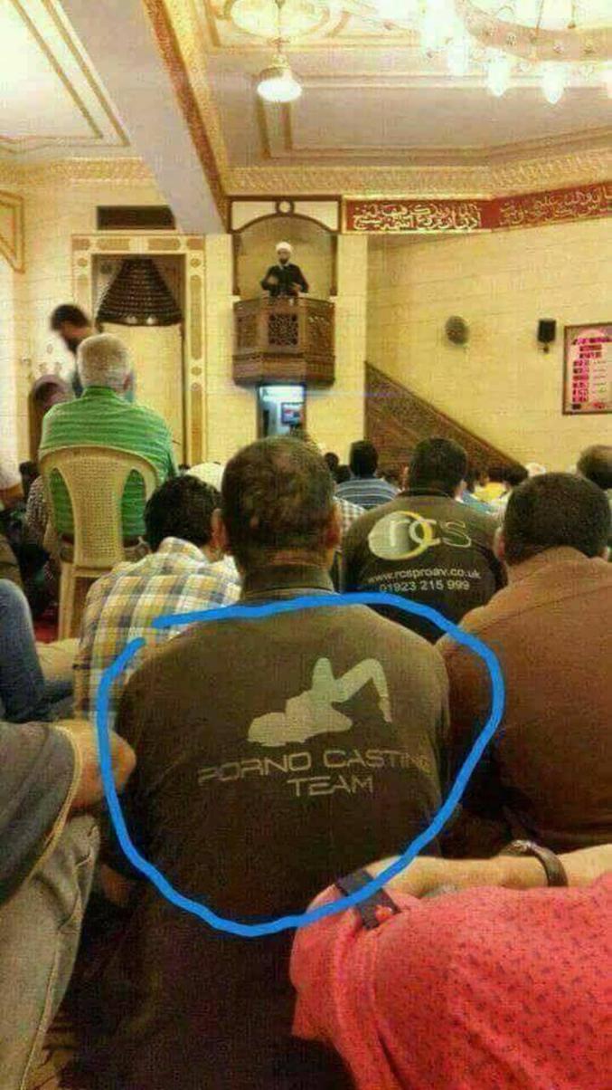 ...y'en a un qui cherche à se mosquée du monde !