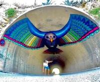 Un oiseau des tunnels