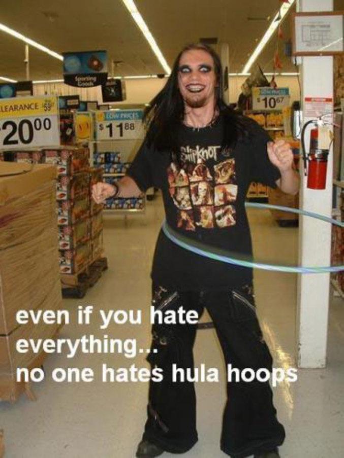 Même si vous détestez tout... tout le monde aime le Hulla-hoop.