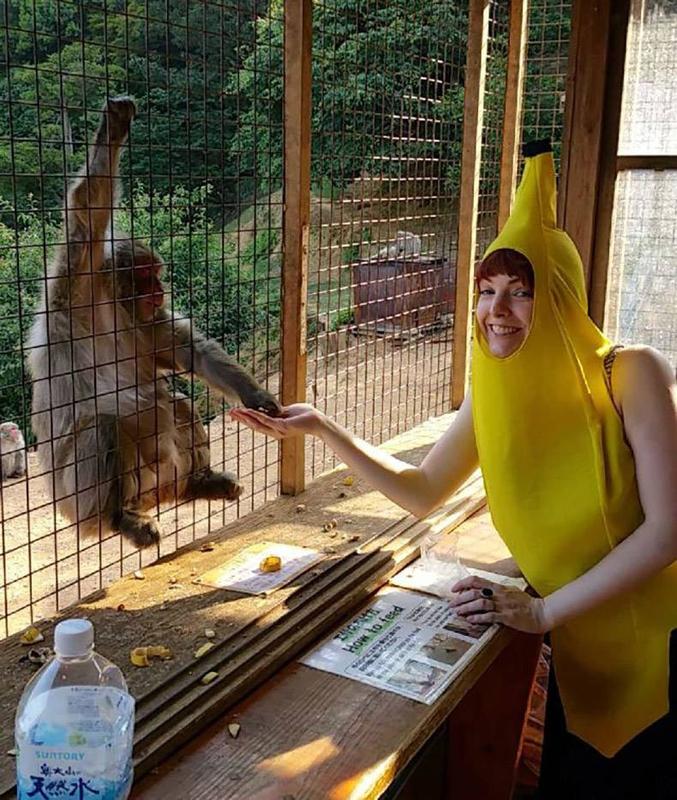 Personnellement, j'aurais pris la banane...