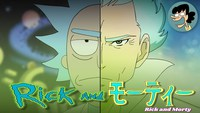 rick and morty version anime