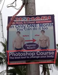 Non, ce n'est pas de la pub pour du fitness ou du bodybuilding...