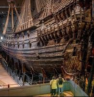 Le navire de guerre Vasa, au musée éponyme à Stockholm