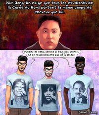Kim Jong-un peu comme eux