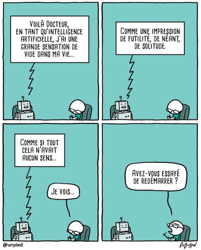 Crise existentielle.