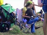 Chaise matelassée
