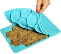 Des cookies hexagonaux