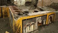 Un fast food antique découvert dans les ruines de Pompéi