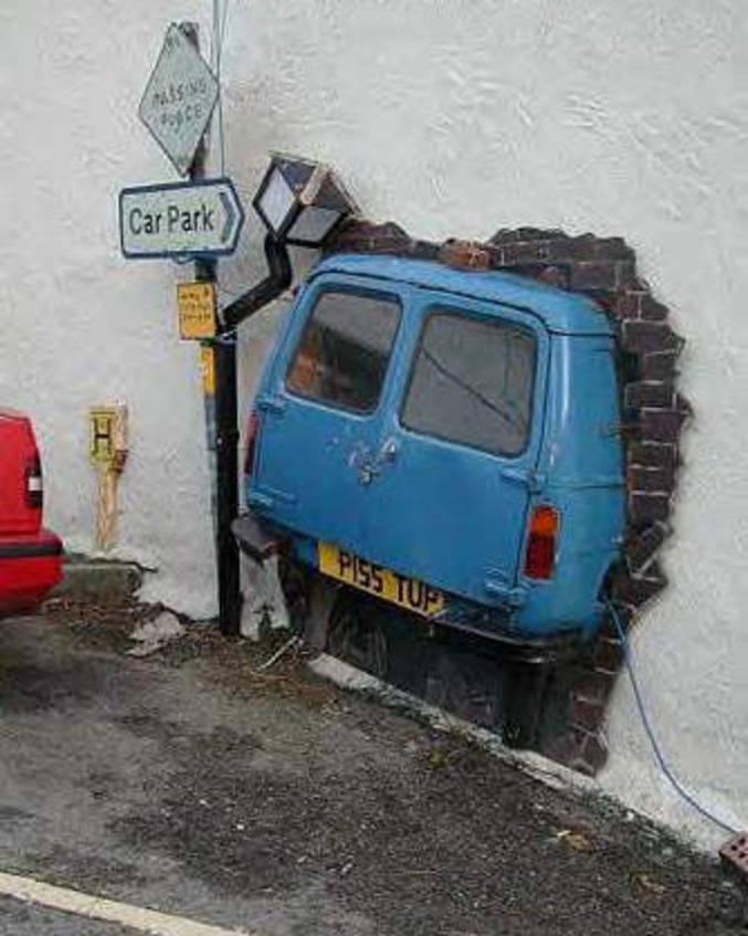 Une place de parking ?