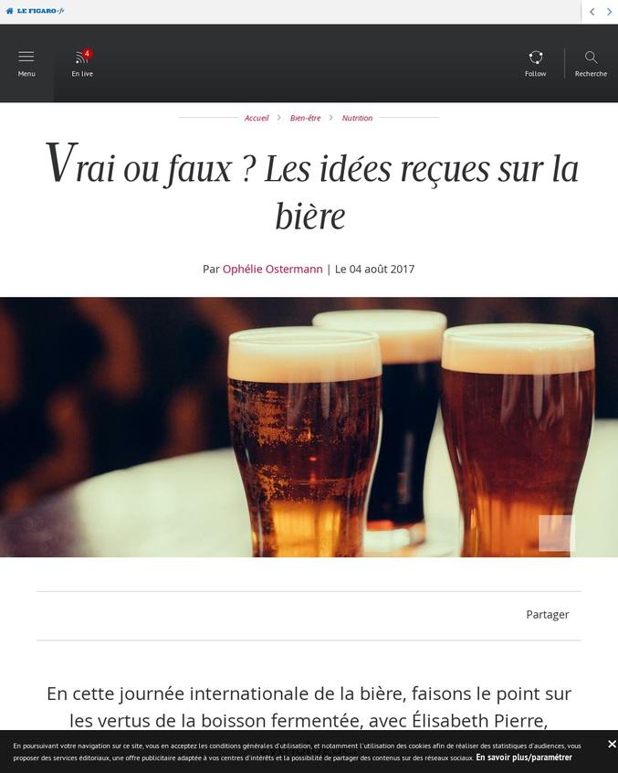 En cette journée internationale de la bière, faisons le point sur les vertus de la boisson fermentée.