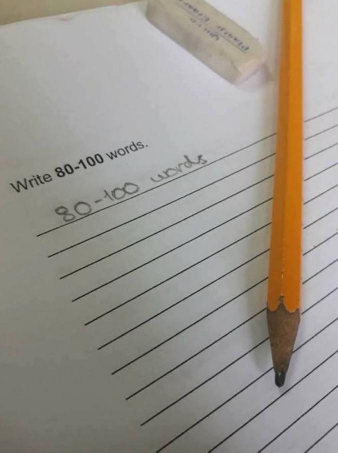 Écrivez entre 80 et 100 mots.