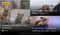 Les actualités, reflet du monde contemporain