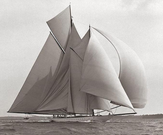 Photo prise en 1910 par Frank William Beken.