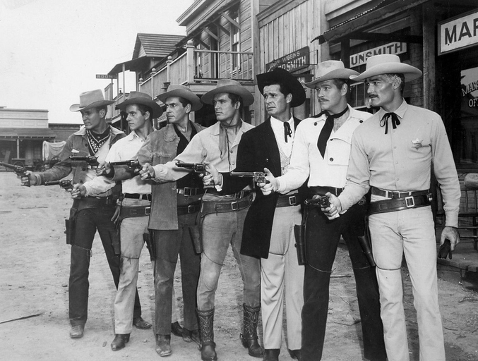 Héros de séries télévisées western de la Warner, en 1959 (la réponse était déjà 42).