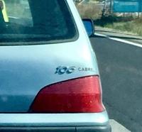 Une Peugeot 106