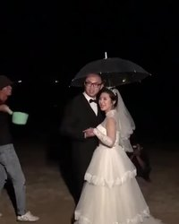 Effets spéciaux pour photo de mariage