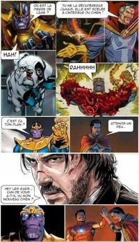 Comment vaincre Thanos