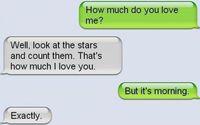 Sms romantique 3