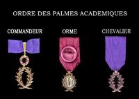 Palmes Académiques pour Orme (les vraies !)