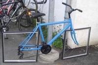 Je ne me risquerais pas à conduire ce genre de vélo !