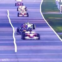 Dépassement en F1