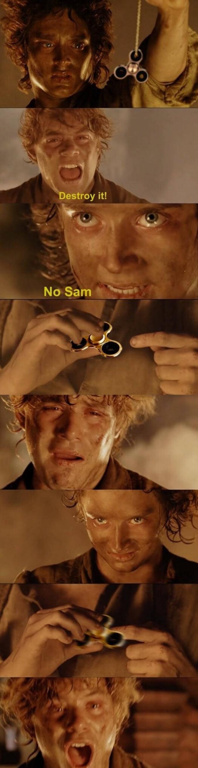 Détruisez-le, m'sieur Frodon !