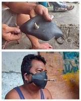 Masque pour fumeur